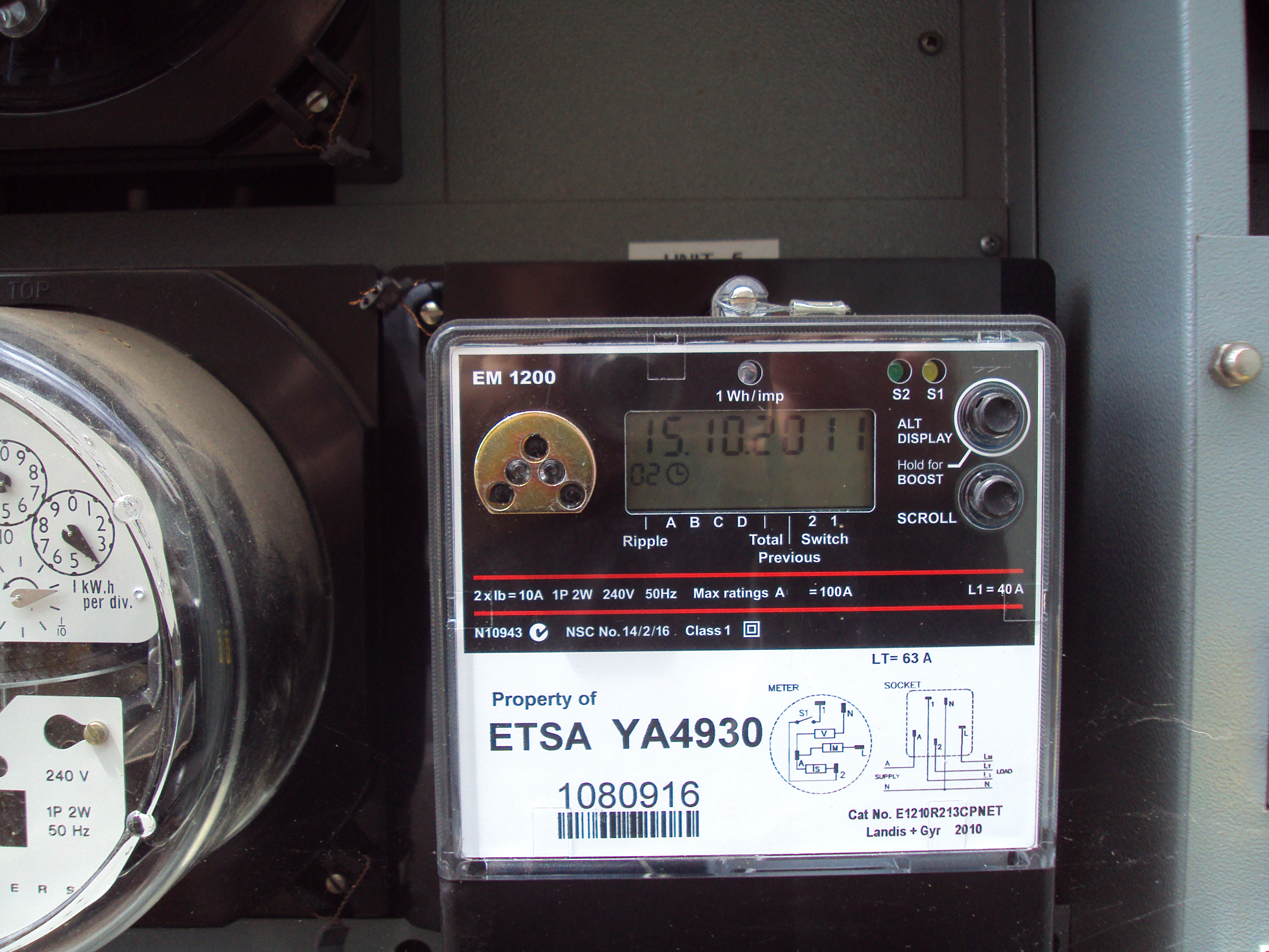 Getting New Electricity Meter