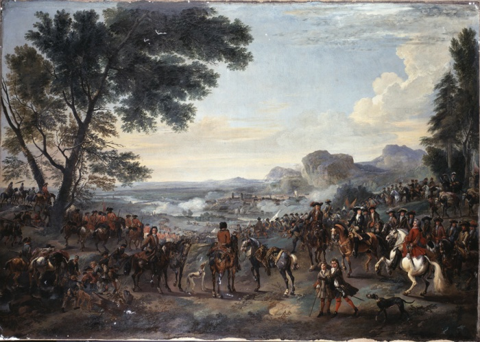 The second siege of Namur, 1695