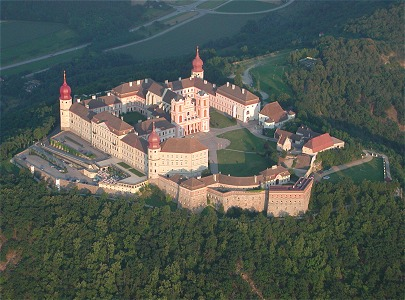 the benedictine abbey of Gottweig in the Danube Valley, now enjoying more freedom as a guesthouse