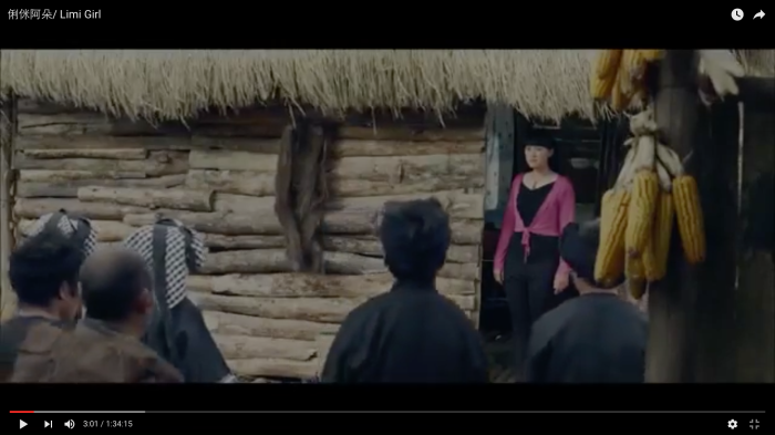 Xiumei angrily faces the angry villagers