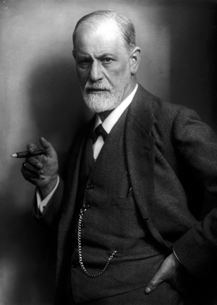Freud died of epithelioma from sticking too many cigars in his mouth, but he doesn't strike me as the orally-fixated dependent type