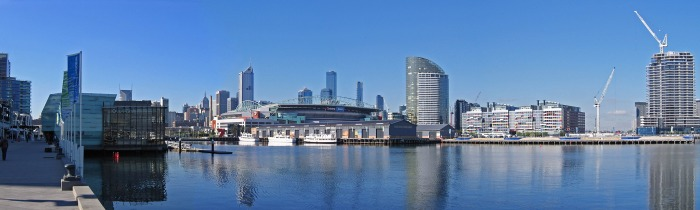Docklands in the Great City of Melbourne
