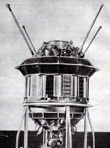 the Luna 3 space probe (or is it H G Wells' time machine?)